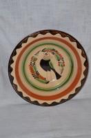 Karcagi madaras falitányér  ( DBZ 0028 )