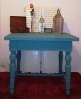 Ónémet asztal vintage Provence-i