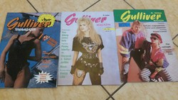 Guliver Magazin 3 db eladó!