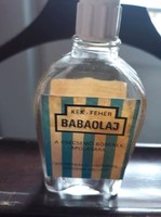 Retro baba olaj üveg - 1970.