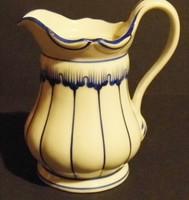 Antik biedermeier kiöntő-kis kancsó...kézi festésű,jelzett