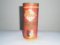 Retro tisztítószer doboz - Flora terpentin kéztisztító por - 1950-1960-as évekből - KHV gyártó