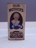 Amerikai Our Mother's kakaós doboz 1930-40