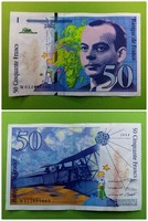 Francia 50 Frank 1994