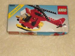 Lego 6685 MISB vintage Tűzoltó helikopter 1982 bontatlan