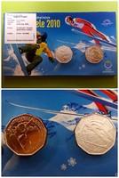 Winterspiele 2010 ezüst 2x5 Euro díszcsomagolásban