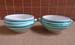 Gmundner Keramik leveses csészék - 2 darab
