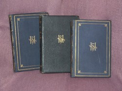 Herczeg Ferenc művei: Tanulmányok,, A híd, A fekete lovas, Balatoni rege, Az ezredes, Tilla