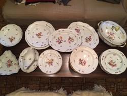 BS (Bouquet de Saxe – Szász virágcsokor) 39 részes  Herendi étkészlet
