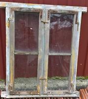 Antik régi ablak dekoráció