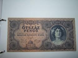 500 Pengő  1945