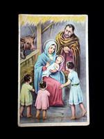 Szűz Mária a jászol előtt