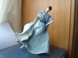 Bohemia porcelán spanyol táncosnő