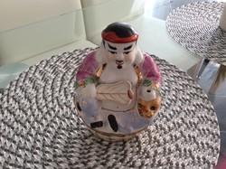 Buddha szobor és füstölő tartó porcelán