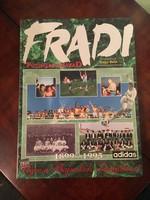 Fradi futballévszázad album könyv
