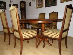 Ebédlőasztal + 6 szék