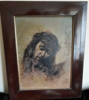 Antik Krisztus festmény