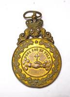 Belga katolikus érem 1899,Oudenaarde.