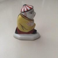 Régi Herendi mini kínai kézzel festett figura