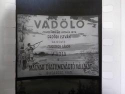 Diafilm : Vadölő 1963 Magyar Diafilmgyártó vállalat