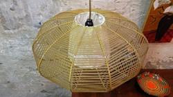 Skandináv stílusú Retro  fonott mennyezeti lámpa