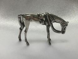 Ezüst miniatűr figura