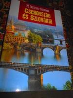 Csehország és Szlovákia útikönyv -eredeti ár 5990 Ft-Nyitott szemmel sorozatból