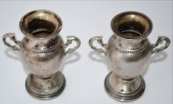 Ezüst serleg párban vésett cizellált talpán ezüstjellel
