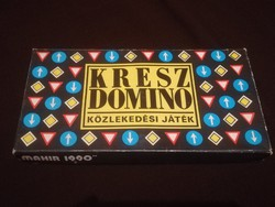 Kresz dominó  társasjáték.