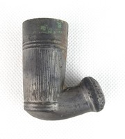0T915 Antik cserép pipafej