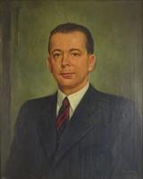0T852 Bánovszky Miklós : Férfi portré 1944