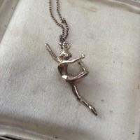 Aranyozott ezüst nyaklánc medállal