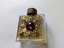 Régi díszes parfümös üveg 103.