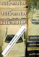 1973 december 6  /  autó-motor  /  SZÜLETÉSNAPRA RÉGI EREDETI ÚJSÁG Szs.:  6501