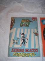 3 db Évkönyv Lúdas Matyi - 1976 - 1977 - 1978 évi