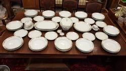 Több mint 150 éves Lukafai 12 személyes, 44 darabos étkészlet