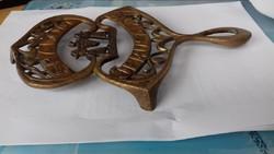 Ritka antik judaika bronz alatet