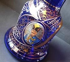 Vastagfalu váza ,kézi munka