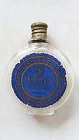 Vintage parfümös üveg Elida régi kölnis üveg 1930 körül