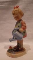 Hummel kerámia locsoló kislány szobor