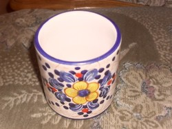 Kézi festésű kerámia pohár