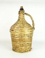 0U511 Régi boros demizson üveg palack ~5 L