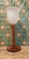 Szecessziós asztali lámpa,gyönyörű állapotban...53 cm magas