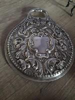 Csodás antik ezüst tükör Anglia 1800-as évek