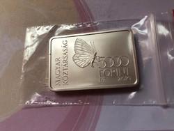 Őrség ezüst 5000 Ft 31,46 gramm 0,925 Ritka