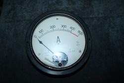 Ampermérő az 1950-es évekből