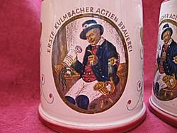 EKU Kulmbacher sörös korsó párban
