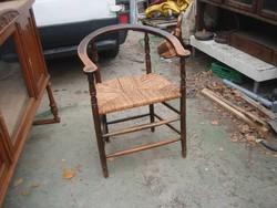 """Antik, karosszék/""""gondolkodó"""" szék/"""