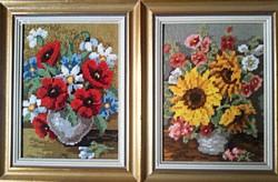 Csodálatos virágos gobelin képek!