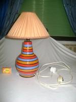 Nosztalgikus kerámia asztali lámpa